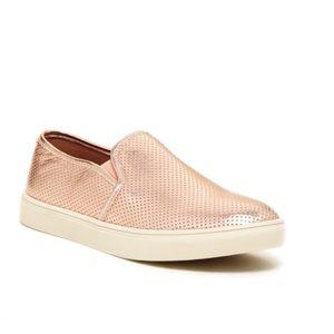 Steve Madden | Ezeke Rose Gold Slip On Sneakers